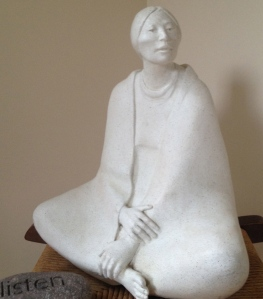 The sitting in stillness habit