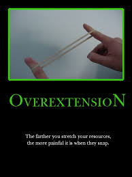 overextention